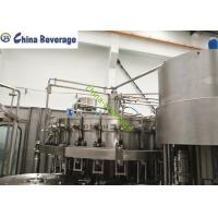 Quality Small Carbonated Soft Drink Filling Machine , Pressure Carbonated Filling Machine for sale