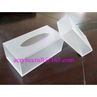 Wholesale Plexiglass / PMMA / Acrylic Tissue Box For Hotel And Home Made In China from china suppliers