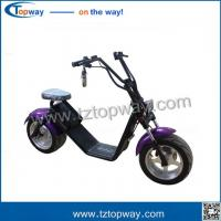 Buy cheap 1000w 12inch 60V 12Ah 45KPH fat tire citicoco electric scooter from wholesalers