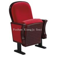 Wholesale PU Foam Wooden Lecture Hall Chairs Cold Rolled Steel Feet For Audience Seating from china suppliers