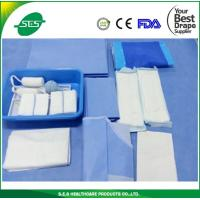 Wholesale EO Sterile Disposable Gynecological Delivery Drape Set, Delivery Pack from china suppliers