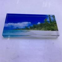 Buy cheap 2017 Hot Sell Transparent Acrylic Photo Block from wholesalers
