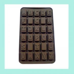 Wholesale letter shape silicone ice trays , heart shape silicone ice trays from china suppliers