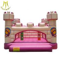 Wholesale Hansel high quality outdoor amusement park inflatable bouncer house with CE certification for kids from china suppliers