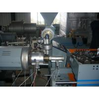 PP / PE Single - Wall Corrugated Plastic Pipe Extrusion Machinery For Washing Machine