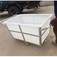 Wholesale 500L folding plastic laundry  trolley carts from china suppliers