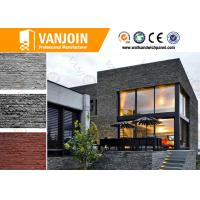 Wholesale 6mm - 10mm Flexible Clay Wall Tile , Fireproof Exterior Decoration Material from china suppliers