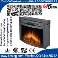 """Wholesale 26"""" insert electric fireplace heater curved front log LED flame effect WF2613L remote control built-in electric stove from china suppliers"""