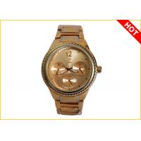 Wholesale Men's Quartz Watches 2 Tone Color Plating 3ATM Waterproof Supplier Warranty for 1 Year from china suppliers