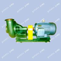 potatoes pump, beet pump, centrifugal pump, slow-speed of revolution, large-caliber pump
