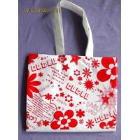 Wholesale Popular Small PP Shopping Bags with Flora Printed for Advertisement from china suppliers