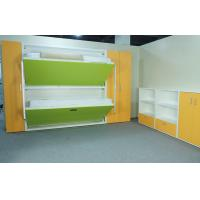 Wholesale Home Use Wood Modern Bunk Wall Beds E1 Grade Material Green Color from china suppliers