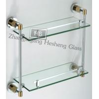 Buy cheap 8MM clear tempered wall shelf  glass from wholesalers