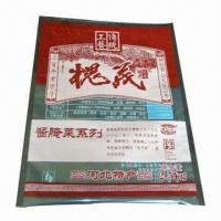 Wholesale PET/LDPE Laminated Pouch, Used for Food, Available in 9 Colors from china suppliers