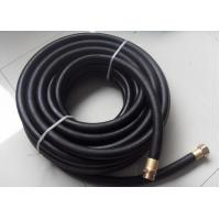 Wholesale Black Rubber Heavy Duty Contractor Commercial Grade Water Hose With Brass Fittings from china suppliers