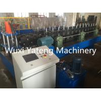 Wholesale Light Mental Channel Stud And Track Roll Forming Machine With Servo Feeding Hydraulic Punching Holes from china suppliers