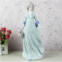 Wholesale The modern home decoration accessories European girl figurines from china suppliers
