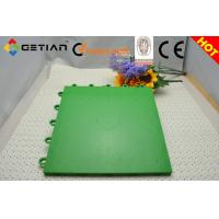 Wholesale Green Modular Gym Sports Embossed Flooring from china suppliers