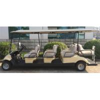 Wholesale 8 Seater Electrical Golf Carts With KDS Motor , Club Battery Powered Golf Cart from china suppliers