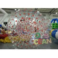 Wholesale Customized 1.00mm PVC Inflatable Human Zorb Ball For Outdoor Sport Game from china suppliers