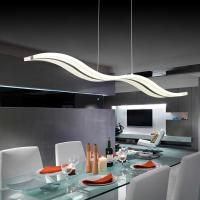 Wholesale Modern 38W White Acrylic LED Chandelier for Dining Room from china suppliers