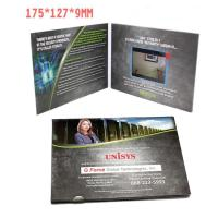 Wholesale 2.4 Inch TFT LCD Video Invitation Cards , JPG / JPEG Photo Format Video Production Brochure from china suppliers