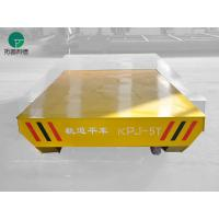 Wholesale 30t load rail transfer car handling heavy equipment trailer with warning alarm from china suppliers