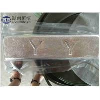 Wholesale Magnesium Yttrium alloy ingot used in master alloy in magnesium extrusions, magnesium castings from china suppliers