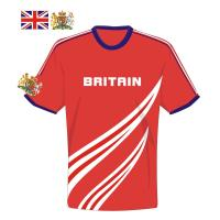 Buy cheap 100%Polyester Sublimated Football Jersey  Custom Heat Transfer T-Shirt from wholesalers