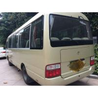 Quality used Toyota coaster bus left hand drive  diesel  engine 6 cylinder  TOYOTA coaster bus for sale for sale