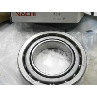 Wholesale NACHI RS 2RZ 2RS Single Row Angular Contact Ball Bearings Nylon / Brass Cage Bearing from china suppliers