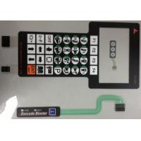 Wholesale Silver Paste Waterproof Membrane Switch PCB , Membrane Keyboard Switches from china suppliers