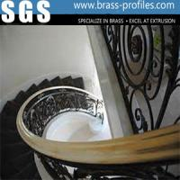 Wholesale Copper Extrusion Handrailing Profiles Design Stair Armrest from china suppliers