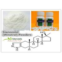 Quality Stanozolol / Winstrol Cutting Cycle Steroids CAS 10418-03-8 Anabolic Hormone Powder Anti Aging for sale