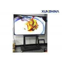 Buy cheap Wheel Stand CE Approval Interactive Touch Screen Kiosk 84