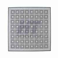 Quality Stringer Antistatic Steel Raised Floor Ventilation Rate 22% Hollow Cavity for sale