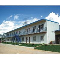 Quality Safety Heavy Eco Prefab Steel Houses Fire Resistance Fast Installation for sale