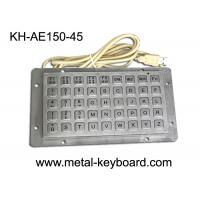 Wholesale Anti - vanda Keyboard with 45 Keys , Industrial Metal Keyboard from china suppliers