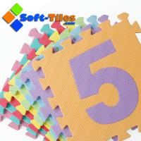 Wholesale Eco-friendly 123 number Alphabet Mat 10pcs/set from china suppliers