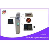 Quality QR Bar Code Token Coin Reader Tripod Turnstile Gate Controlled Access Turnstiles for sale