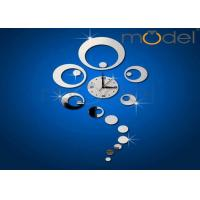 Wholesale Novelty Wall Decal Clock Creative Abstract Acrylic Sticker Clocks from china suppliers