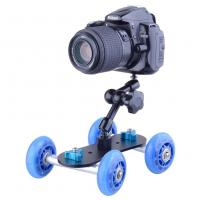 Wholesale Portable Tabletop DSLR Camera Table Dolly Slider For Tripod Heads from china suppliers