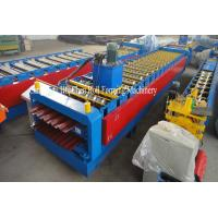 Wholesale 7.5KW 0.3 - 0.8mm Double Layer Roll Forming Machine 380V 50Hz 3 Phases from china suppliers