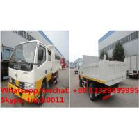 Wholesale HOT SALE! Dongfeng 4*2 double cabs light duty 3tons dump tipper truck, Factory sale high quality and lower price tipper from china suppliers