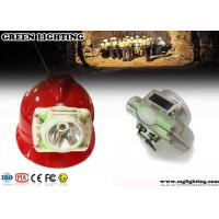 Wholesale IP68  Cordless Led Mining Cap Lamp With OLED Digital Display Anti - Explosive 3W from china suppliers