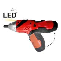 Wholesale Small 3.6V 1.3Ah Li-ion Cordless Electric Power Screwdriver with Twist / Battery Indicator from china suppliers
