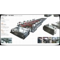 Wholesale WPC Profile Extruder Production Line / Wood Plastic Double Screw Extruder from china suppliers