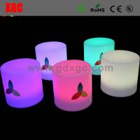 Wholesale Glow round stool outdoor furniture GF202 light furniture plastic Led furniture bar Chair High Bar Chair from china suppliers