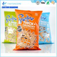Wholesale Moisture Proof beatiful middle seal Plastic Packaging Bags pillow bag for food and nuts from china suppliers