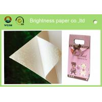 Wholesale White Bristol Art Cardboard Sheets Two Sides Coated For Wrapping Packaging from china suppliers